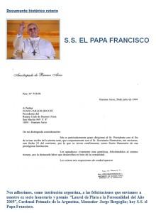 Bergoglio Rotary